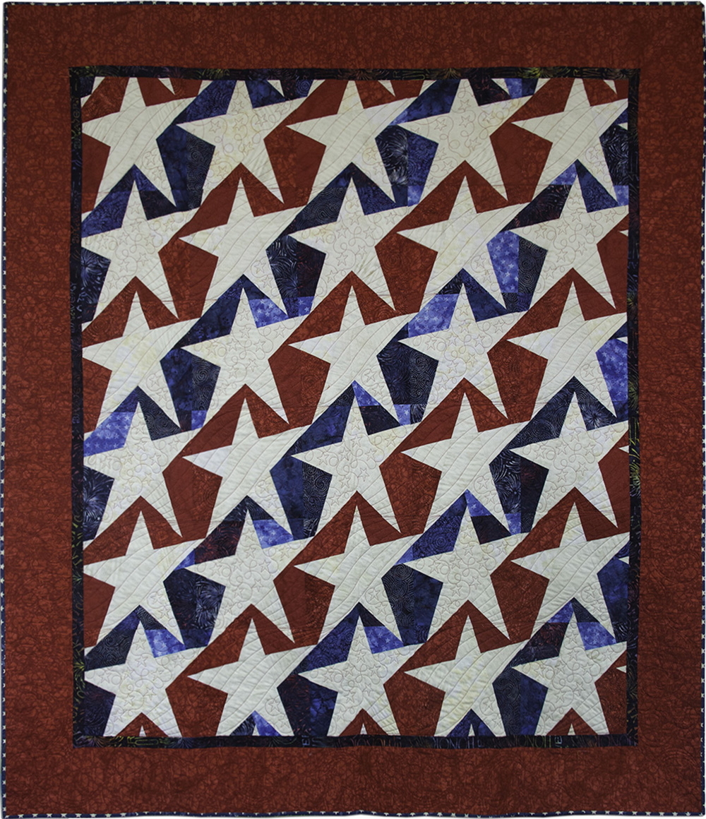 Stars and Stripes Forever : stars and stripes quilt pattern - Adamdwight.com